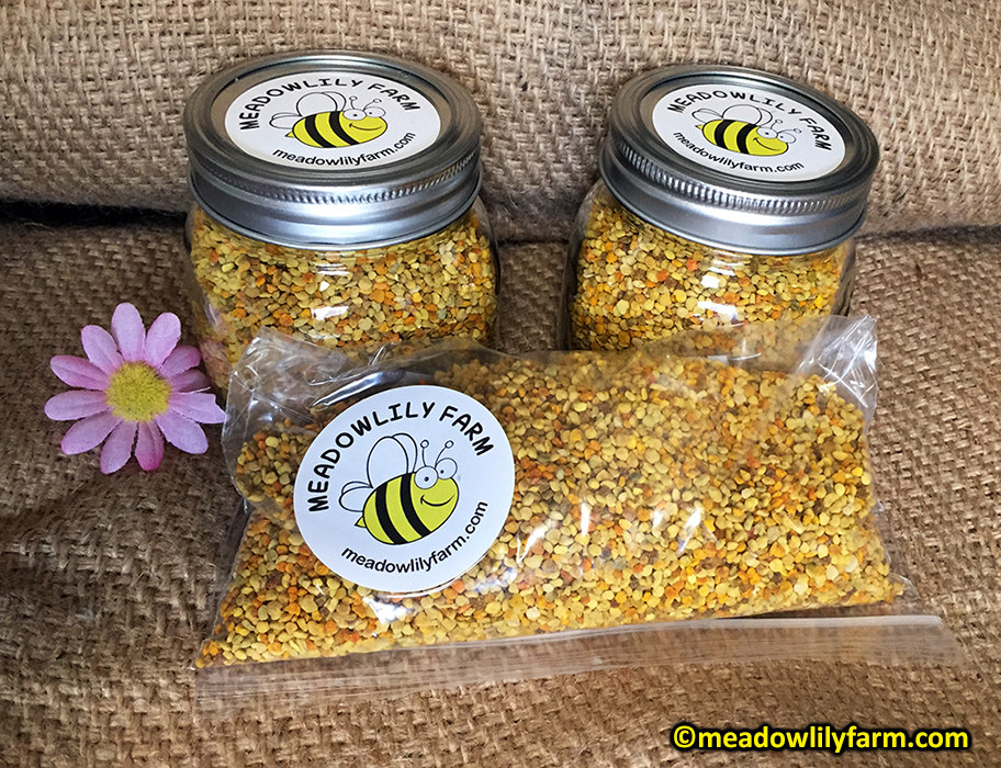 Meadowlily Bee Pollen - Meadowlily Farm Canada Natural Raw ...